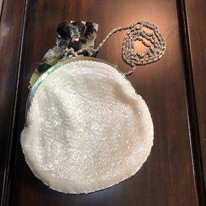 Claudia Barnes Vintage Seed Beaded Bag